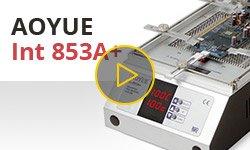 Видеообзор инфракрасного преднагревателя плат AOYUE Int 853A+