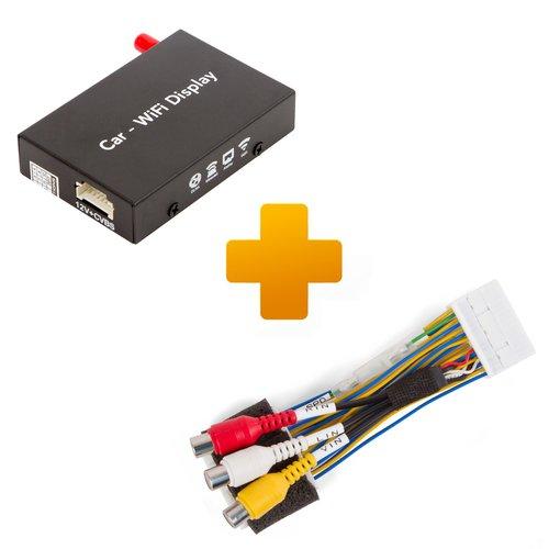 Адаптер дублирования экрана Smartphone/iPhone и кабель подключения для мониторов Toyota, Citroen и Peugeot X-Touch / X-Nav