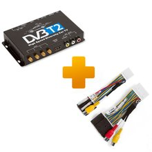 DVB T2 TV Receiver and Connection Cable Kit for Touch, Scion Bespoke Monitors - Short description