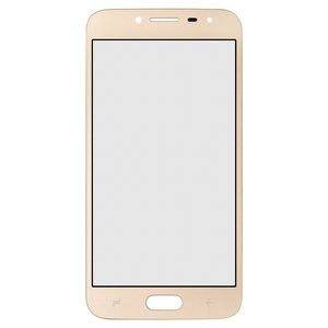 Housing Glass compatible with Samsung J250F Galaxy J2 (2018), (golden)