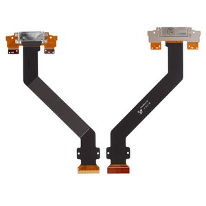 Flat Cable for Samsung P7300 Galaxy Tab , P7310 Galaxy Tab  Tablets, (charging connector, with component)