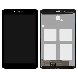 LCD for LG G Pad 7.0 V400 Tablet, (black, with touchscreen)