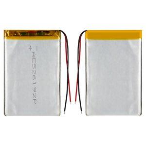 Battery, (90 mm, 58 mm, 3.2 mm, Li-ion, 3.7 V, 1800 mAh)