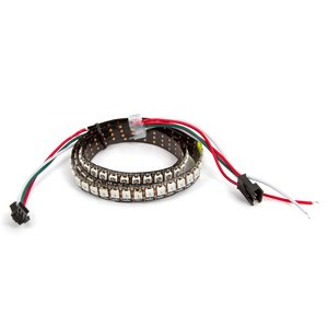 RGB LED Strip SMD5050, WS2812B (with controls, IP20, 144 LEDs/m, 5 m)