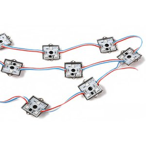 Square LED Module Kit (WS2811, full color, 3 SMD5050 LEDs, IP67, 20 pcs.)