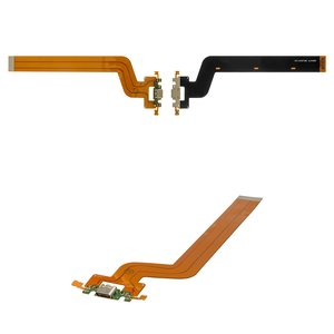 Flat Cable for Xiaomi Mi Pad 2 Tablet, (charge connector, with components)