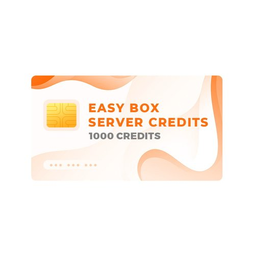 Easy-Box Server Credits Pack with 1000 Credits