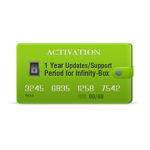 Activación de soporte/actualizaciones para Infinity-Box para 1 año, incluido Chinese Miracle-2