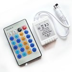 Regulador LED con control remoto IR HTL-42 (unicolor, 5050, 3528, 72 W)