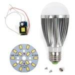 Juego de piezas para armar lámpara LED SQ-Q03 5730 E27 7 W – luz blanca fría