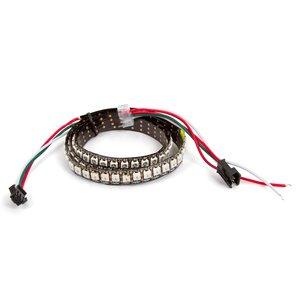 Светодиодная лента RGB SMD5050, WS2812B (c управлением, IP20, 144 диодов/м, 1 м)