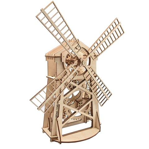 Механический 3D-пазл Wood Trick Мельница