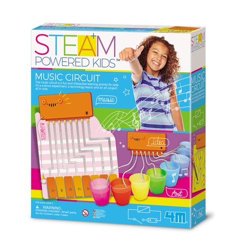 STEAM-набор для девчонок 4М Волшебная музыкальная цепь 00-04907
