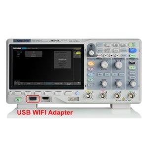 Opción de software para activar Wi-Fi SIGLENT SDS1000X-E-WIFI
